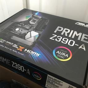 Kit Intel Core I5 8600k Asus Prime Z390a Novo