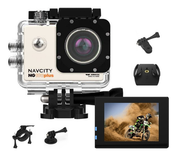Camera Fotografica Filmadora Full Hd Go Action Navcity