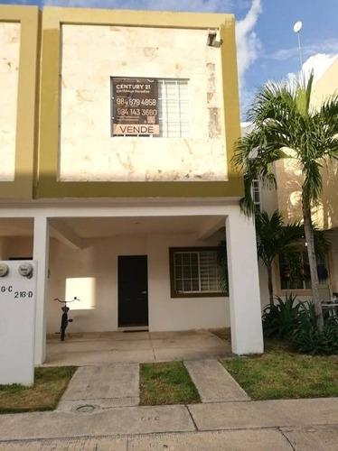 Imagen 1 de 14 de Casa  Coto 1 Selvanova Playa Del Carmen Quintana Roo P3038