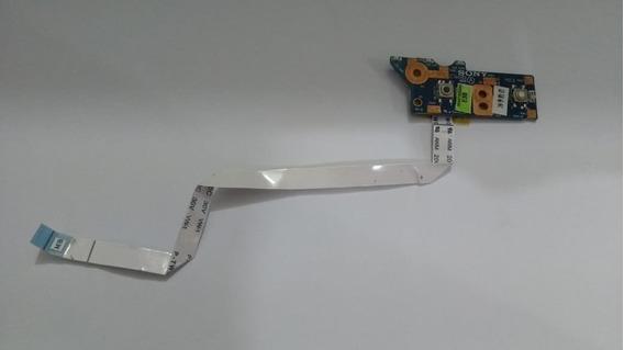Placa Botão Power Sony Vaio Pcg 61611x Pn Dane7tb16e0