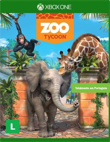 Jogo Xbox One Zoo Tycoon - Lacrado Game Xbox One