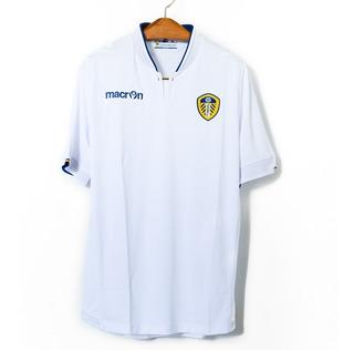 Camisa De Futebol Masculino Leeds United 2014/15 Macron