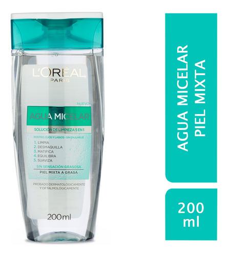 Agua Micelar Piel Mixta L´oréal Paris Hidra Total 5 X 200ml