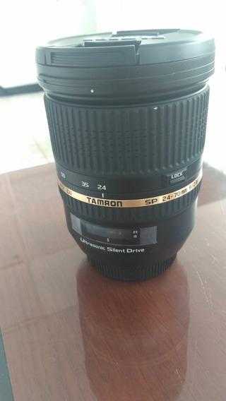 Lente Tamron 24-70mm P/ Sony F/2.8 Ful Frame ( Nova)