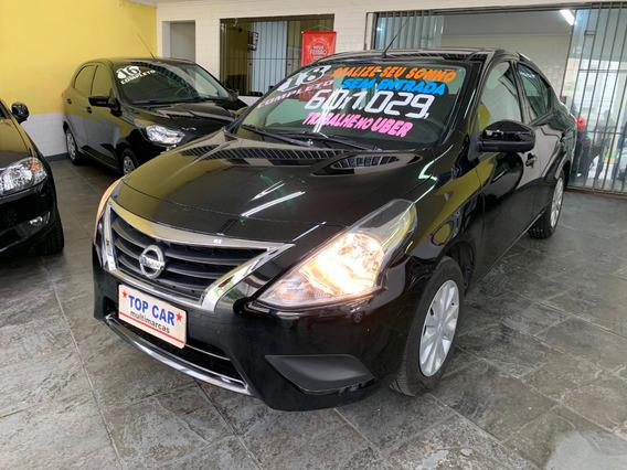 Nissan Versa 1.0 12v Conforto 4p 2018 Sem Entrada