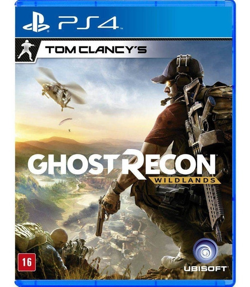 Tom Clancys: Ghost Recon Wildlands Ps4 Midia Fisica
