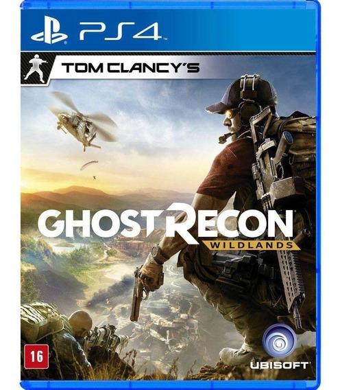 Tom Clancys: Ghost Recon Wildlands Ps4 Midia Fisica Lacrado