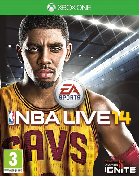 Nba Live 14 Mídia Física Xbox One
