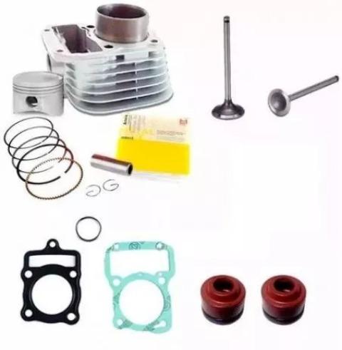 Kit Motor Titan/xlr 91 /2001 Com Valvulas,juntas,retentores