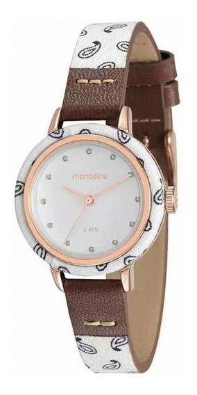 Relógio Feminino Mondaine Pulseira Marrom 89003lpmvrh2