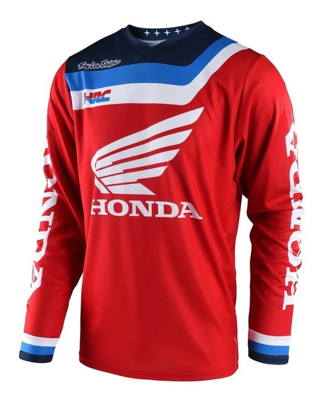 Remera Cross Troy Lee Gp Air Prisma Honda