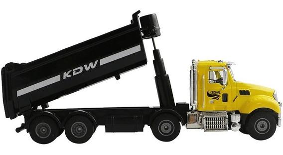 Camion Trailer Escala 1:50 Volteo Torton Construccion