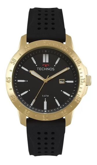 Relógio Technos Masculino Performance Preto 2115mqw/8p