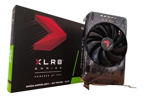 Imagen 1 de 10 de Placa De Video Nvidia Geforce 3060 12gb Xlr8 Pny Single Fan