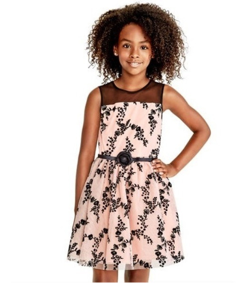 Vestido Rose Dust Children