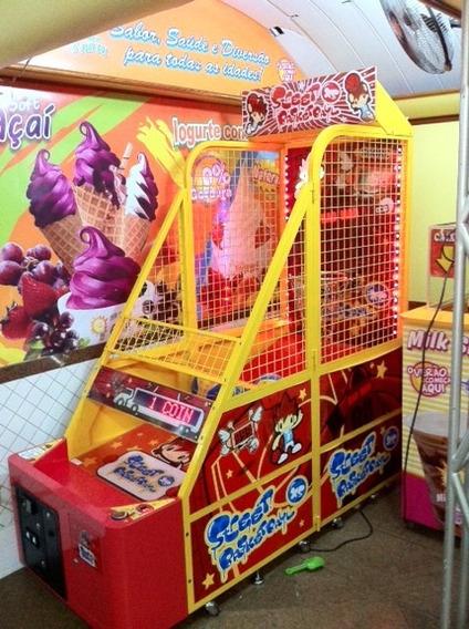 Maquina De Fliperama Basket Street Dino Mini