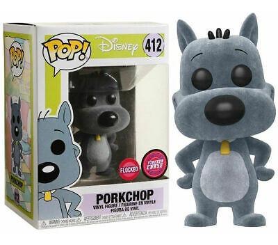 Funko Pop Porkchop Costelinha Limited Flocked Chase 412