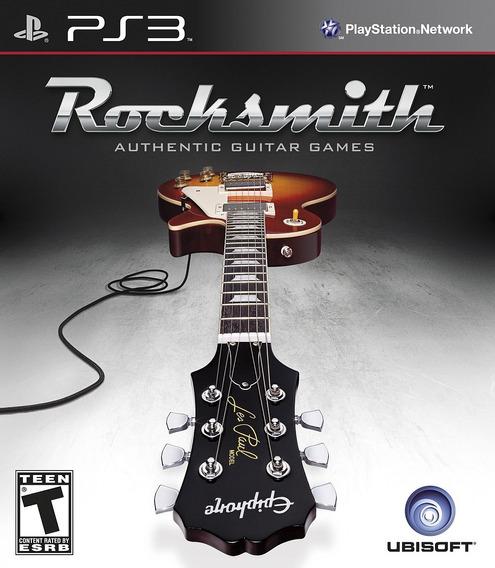 Jogo Rocksmith Guitar Games Playstation 3 Ps3 Frete Grátis!