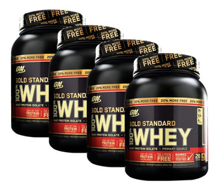 4x Whey Gold Standard 907g + 20% ( 1090g ) Optimum