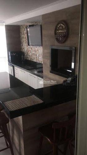 Apartamento Com 4 Dormitórios À Venda, 182 M² Por R$ 1.200.000,00 - Vila Rosália - Guarulhos/sp - Ap0025