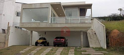 Imagem 1 de 16 de Casa Com 3 Suítes À Venda, 277 M² Por R$ 880.000 - Reserva Paineiras - Vargem Grande Paulista/sp - Ca1476