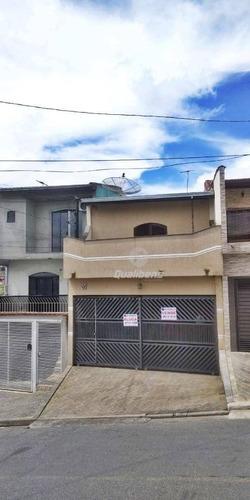 Sobrado Com 3 Dormitórios À Venda, 128 M² Por R$ 450.000,00 - Vila Independência - Mauá/sp - So0028