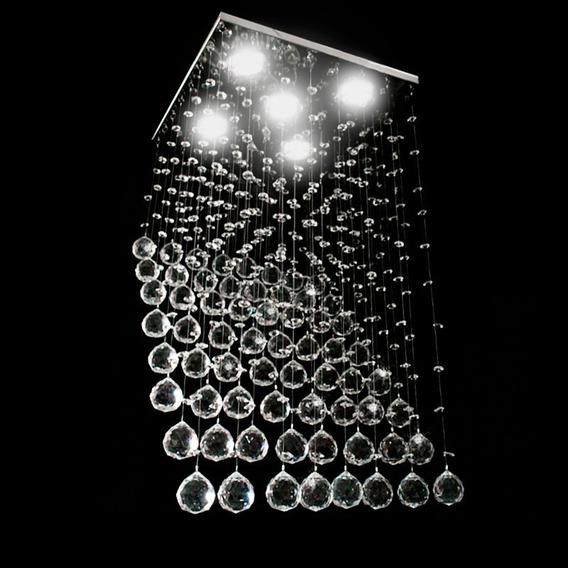 Lustre De Cristal Rampa 38 Cristal Legítimo Anninox
