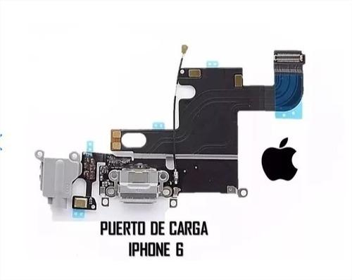 Flex Conector Puerto De Carga iPhone 6 Original Pin 6g Origi