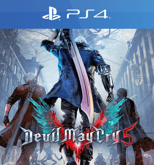 Dmc5 Devil May Cry 5 - Ps4 - 2 - Envio Imediato