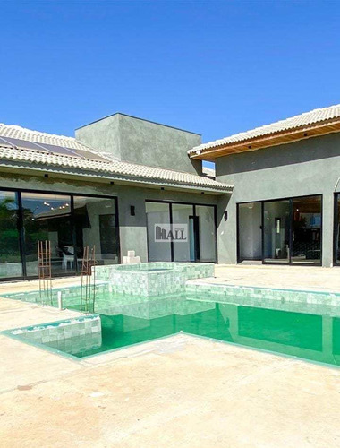 Imagem 1 de 9 de Caracará À Venda Condomínio Terras Da Barra 3 Quartos E 6 Vagas - V8399