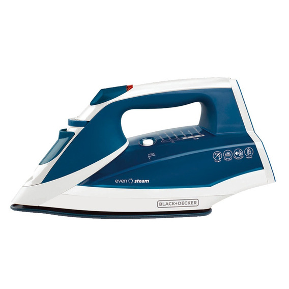Plancha Black + Decker Ir2060 Vapor Evensteam Ceramic Cuotas