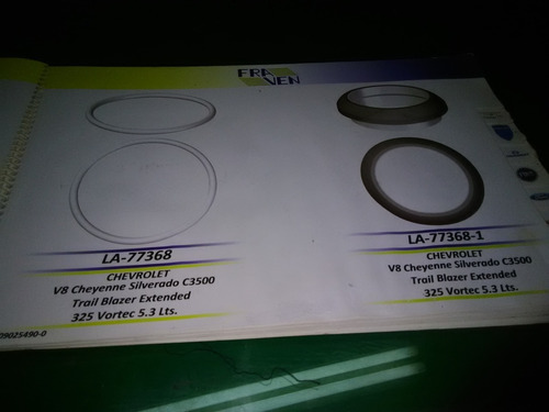 Empacadura Bajante Tubo De Escape Blazer 262 - 350 Tbi-vort