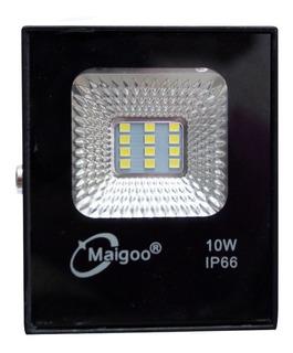 Reflector 10w Led Luz Blanca Fria 110 Volts Ip65 Exteriores