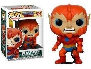 Funko Pop Masters Of The Universe Beast Man 539 Original