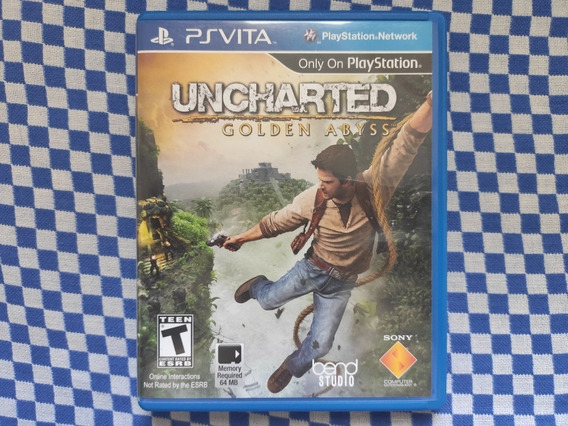 Uncharted Golden Abyss - Ps Vita