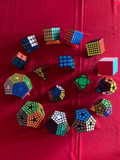 Colección De Cubos Rompecabezas