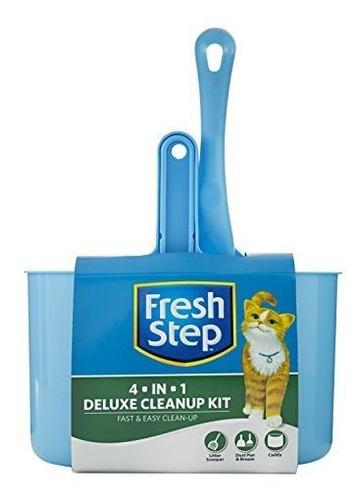 Fresh Step - Kit De Limpieza 4 En 1