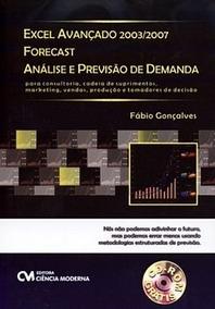 Excel Avançado 2003/2007 Forecast - Anál Gonçalves, Fábio