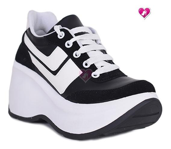 Zapatillas Sneakers Plataforma Mod Zharay 2 De Shoes Bayres