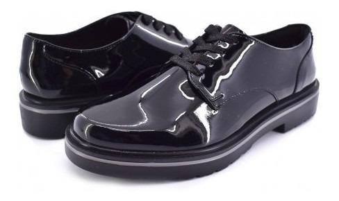 Zapatoflexi 32901 Charol Negro Gea 22.0-27.0 Damas