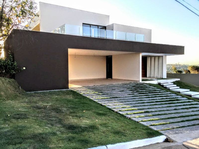 Maravilhosa Casa Nova Em Condomínio Com Vista Definitiva Para A Lagoa Central!! - 2779
