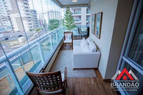 Apto Com 3 Suites À Venda, 121 M² Zona Sul D Ribeirão Preto