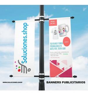 Banner Publicitario Diseño Y Acabados