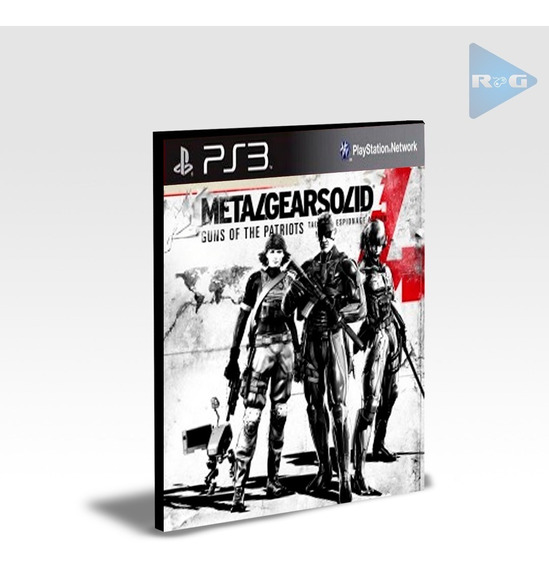 Metal Gear Solid 4 Guns Of The Patriot | Jogos Ps3