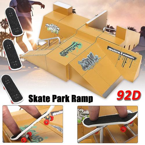 Imagen 1 de 5 de Skate Park Partes Rampa Para Tech Deck Fingerboard Dedo Junt