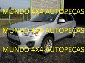 Sucata Mitsubishi Asx 2.0 Cvt 4x2 Com Motor E Cambio Peças