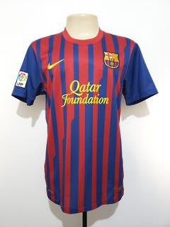 Camisa Oficial Futebol Barcelona Espanha 2011 Nike Home M