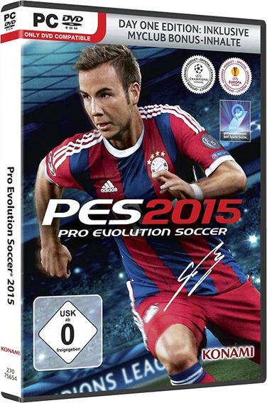 Pes-pro Evolution Soccer 2015 Pc Envio No Mesmo Dia Original