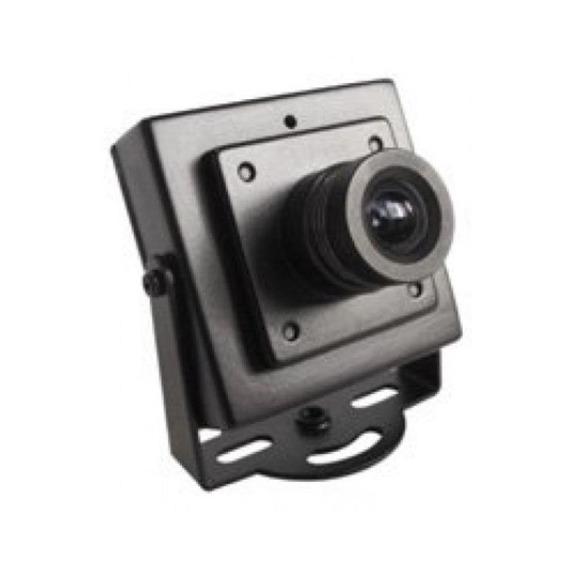 Mini Camera De Segurança Ccd Color Analogica 4pçs