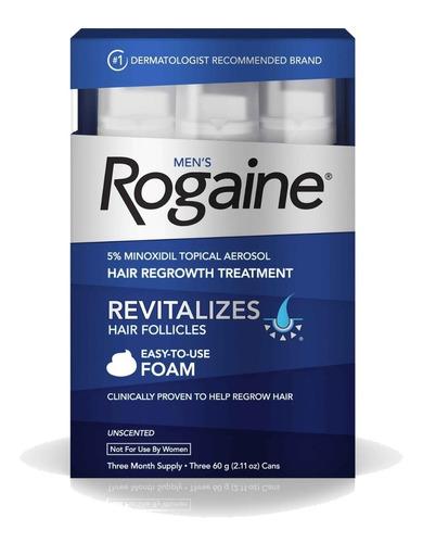 Imagen 1 de 9 de Men´s Rogaine Foam 5% Three Month Supply
